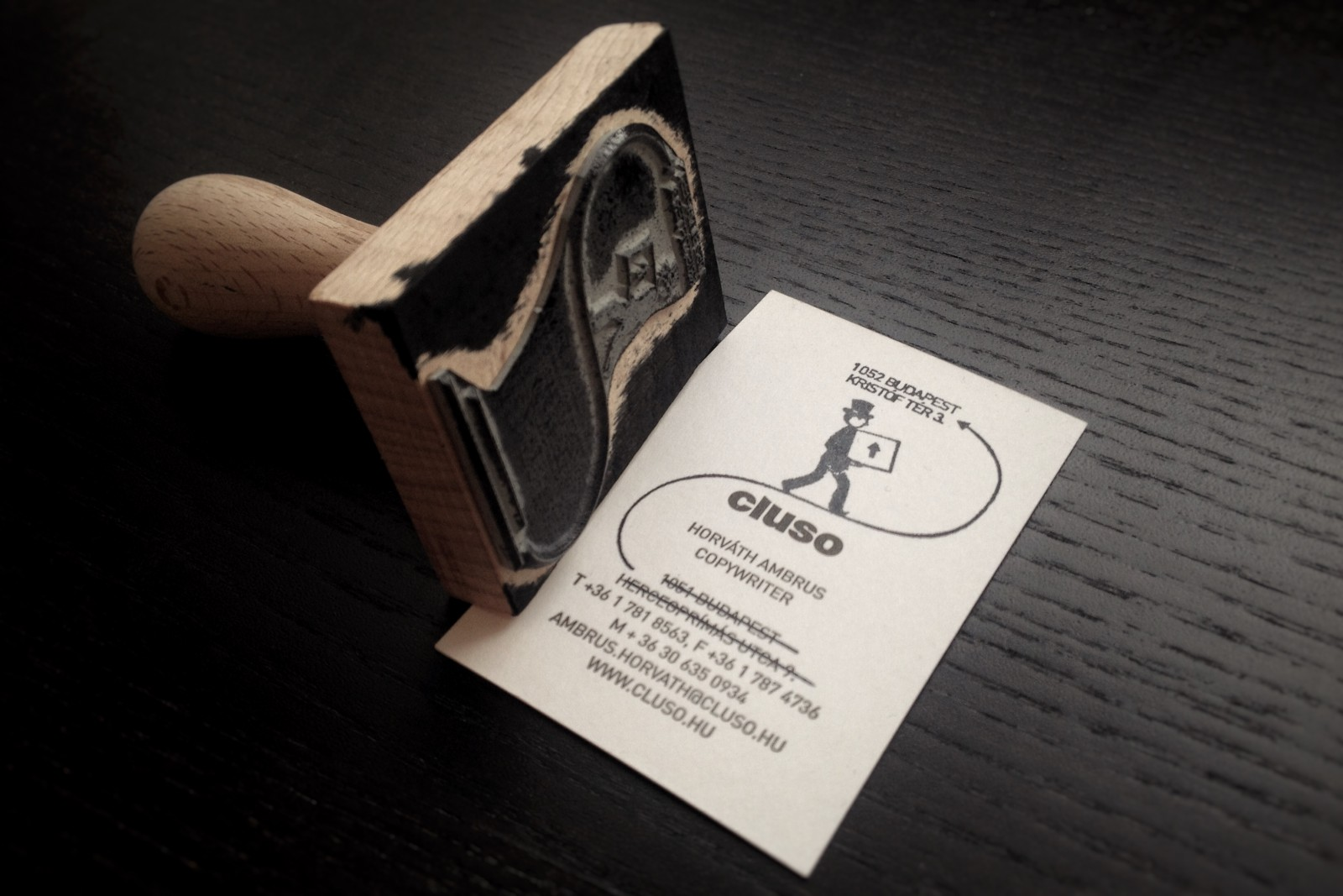 The Business Card Stamp – Ambrus Hørvath
